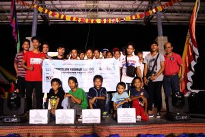 Pagkakaloob ng tulong pinansyal sa mga institusyon, isinagawa kasabay ng pagdiriwang ng SOCOTECO II Family Day