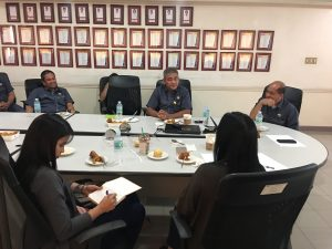 Reorganization Committee Meeting with the assistance of NEA – IDD Personnel