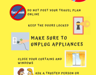 HOME SAFETY TIPS FOR HOLY WEEK 2019